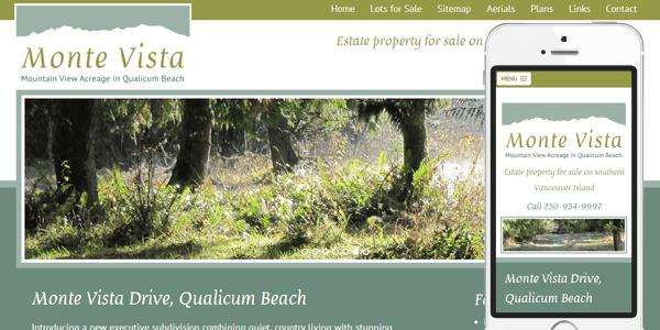 Monte Vista Website Redesign
